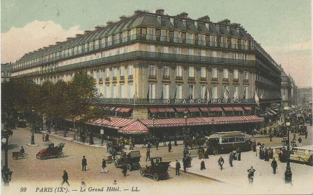 LL 99 - PARIS (IX°). - Le Grand Hôtel