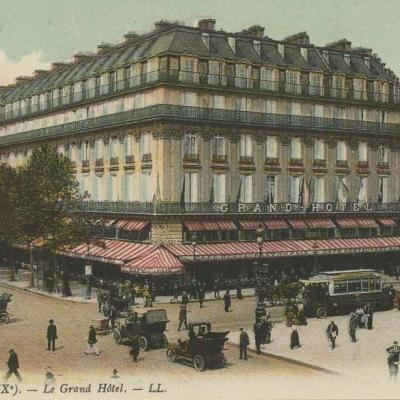 LL 99 - PARIS (IX°). - Le Grand Hôtel