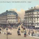LL Paris - Vue générale ''Aux Galeries Lafayette''