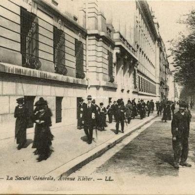 LL - PARIS (XVI°) - La Société Générale, Avenue Kléber