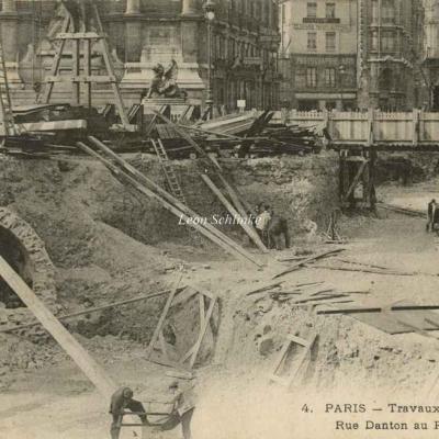 LM 4 - Travaux rue Danton au Pont des Soupirs