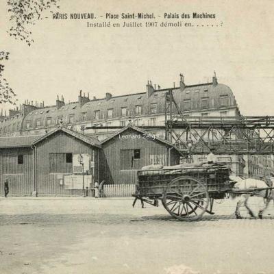 LM 7 - PARIS NOUVEAU - Place St-Michel - Palais des Machines