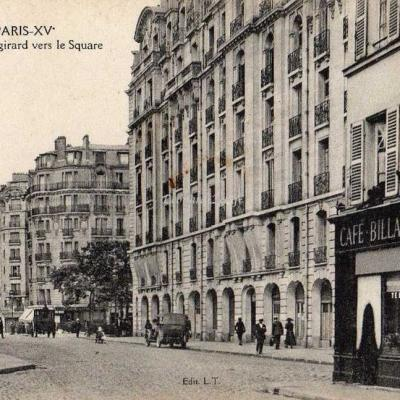 LT 5 - La Rue de Vaugirard vers le Square
