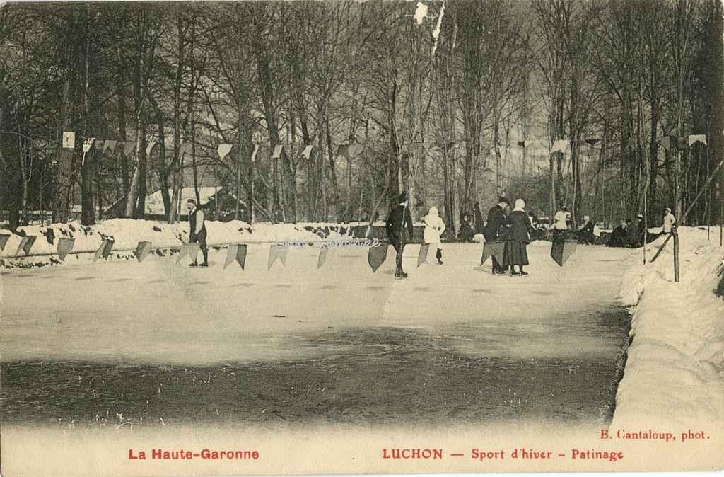 Luchon - Sport d'hiver - Patinage