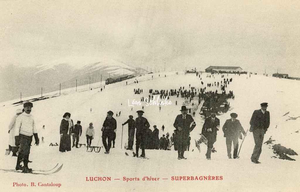 Luchon - Sports d'hiver - Superbagnères