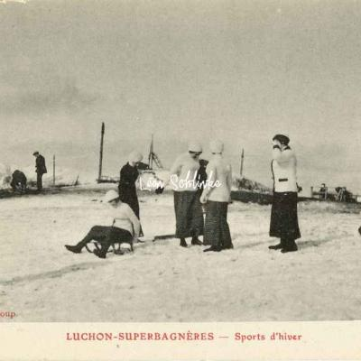 Luchon - Suoerbagneres - Sports d'hiver