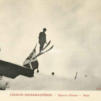 Luchon-Superbagneres - Sports d'hiver - Saut