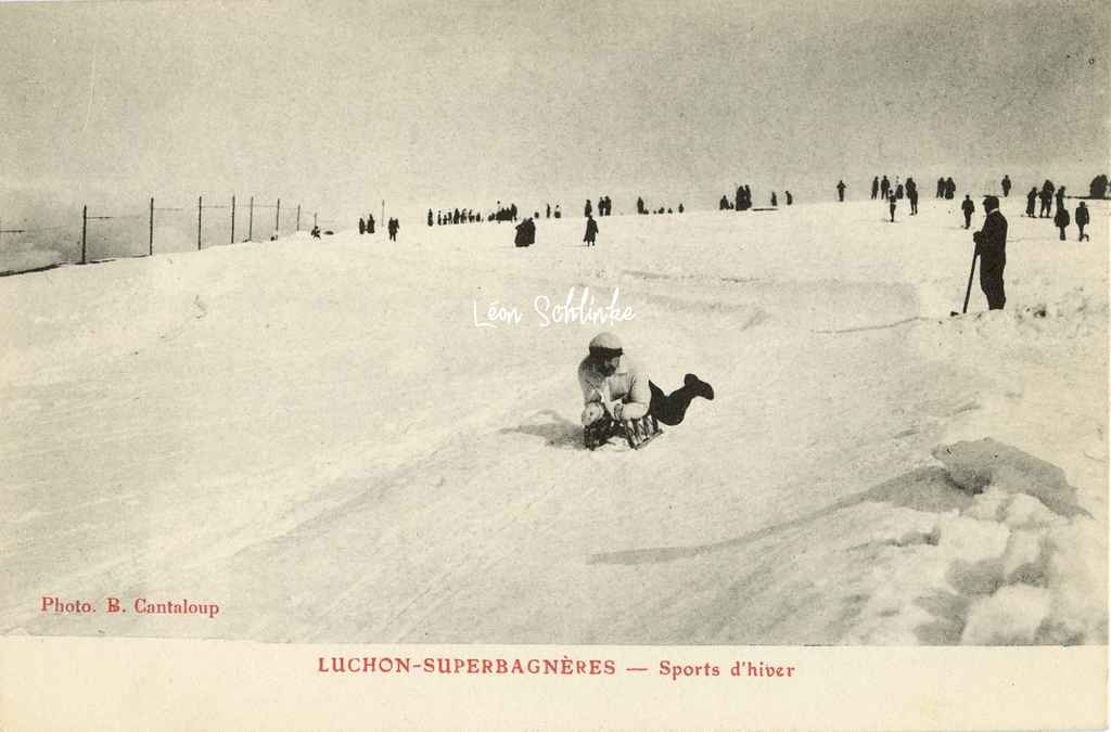 Luchon-Superbagneres  -  Sports d'hiver