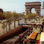Lyna 1242 - Les Champs-Elysées et l'Arc de Triomphe