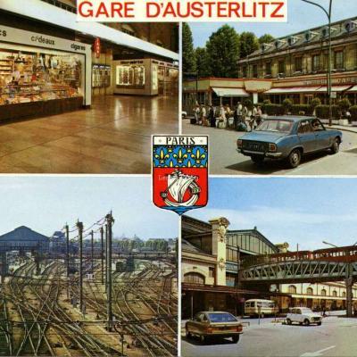 Lyna 567 - PARIS - La Gare d'Austerlitz