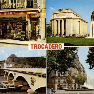 Lyna 607 - Paris 16° - Multivues autour du Trocadéro