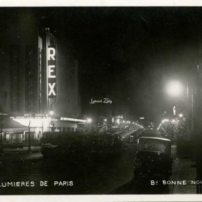 M.TOUSSAINT - Les Lumières de Paris - Bd Bonne-Nouvelle