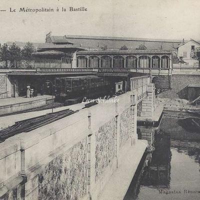 Magasins réunis 54 - Le metro à la Bastille