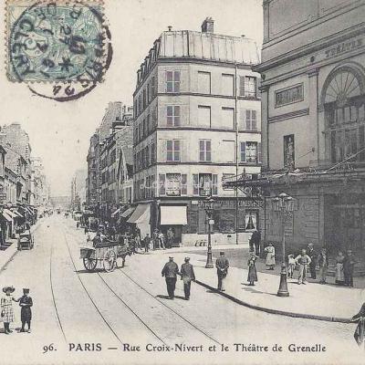 Magasins Réunis 96 - Rue Croix-Nivert et Théâtre de Grenelle
