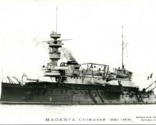 Cuirassé MAGENTA  1880-1909