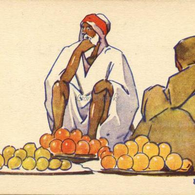 Marchands de fruits