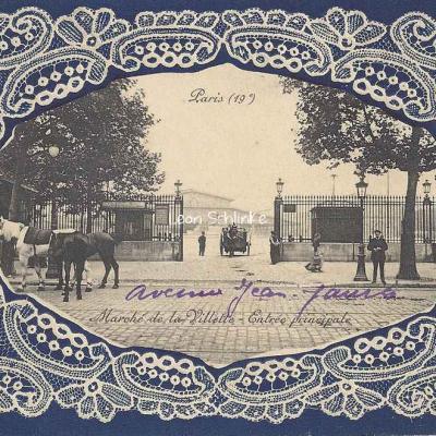 Marché de la Villette - Entrée principale