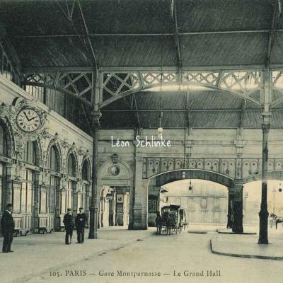 Marmuse 105 - Gare Montparnasse - Le Grand Hall