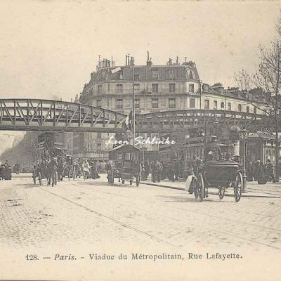 Marmuse 128 - Viaduc du Métropolitain, Rue Lafayette
