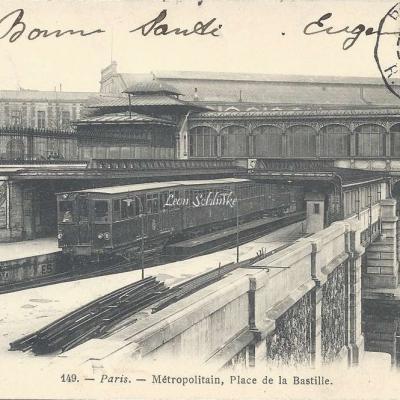 Marmuse 149 - Metropolitain, Place de la Bastille