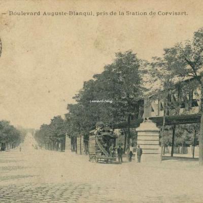 Marmuse 159 - PARIS - Boulevard Auguste-Blanqui, pris de la Station de Corvisart