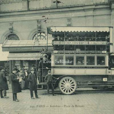 Marmuse 233 - Autobus - Place de Rennes
