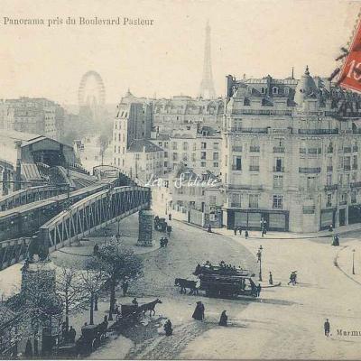 Marmuse 249 - Panorama pris du Boulevard Pasteur