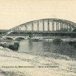 Marmuse 258 - PARIS - Passerelle du Métropolitain - Quai d'Austerlitz
