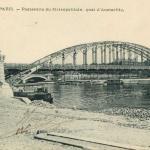 Marmuse 258 - Passerelle du Métropolitain, quai d'Austerlitz
