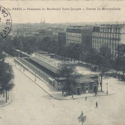 Marmuse 280 - Panorama du Boulevard Saint-Jacques - Station du Métro