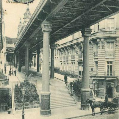 Marmuse 287 - PARIS - Sous le Métro, quai de Passy