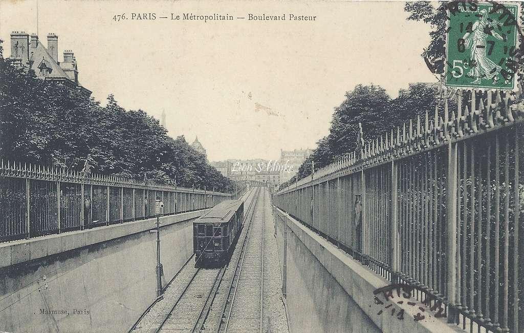 Marmuse 476 - Le Metropolitain Boulevard Pasteur