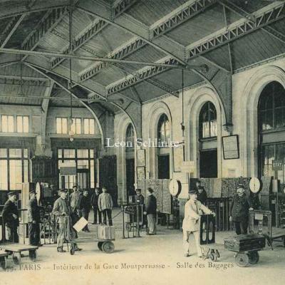 Marmuse 479 - Intérieur de la Gare - Salle des Bagages