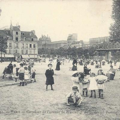 Marmuse 545 - Carrefour de l'Avenue de Breteuil et Boulevard Pasteur