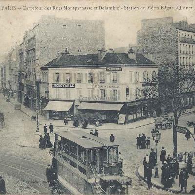 Marmuse 609 - Carrefour des Rues Montparnasse et Delambre