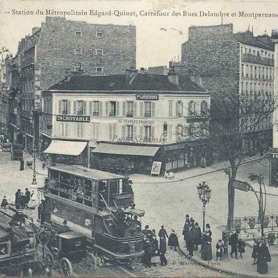 Marmuse 609 - Station du Métro Edgar-Quinet