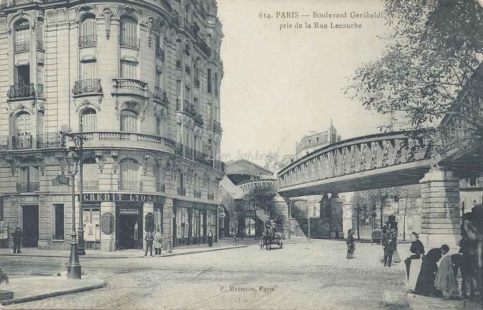Marmuse 614 - Bd Garibaldi pris de la Rue de Sèvres