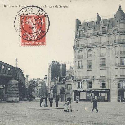 Marmuse 658 - Bd Garibaldi et la Rue de Sèvres