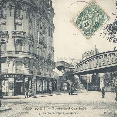 Marmuse 670 - Boulevard Garibaldi pris de la Rue Lecourbe