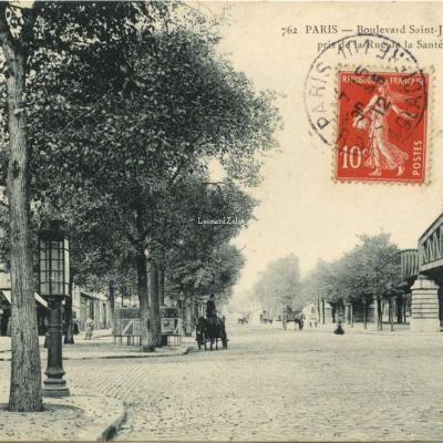 Marmuse 762 - PARIS - Boulevard Saint-Jacques pris de la Rue de la Santé