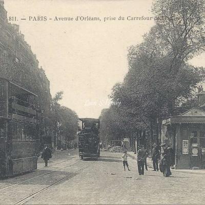 Marmuse 811 - Avenue d'Orléans au Carrefour de l'Eglise