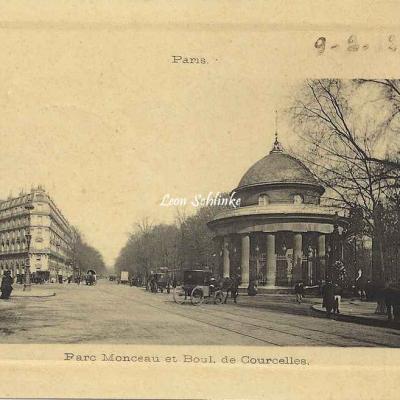 Masmin Edition - Parc Monceau et Boul. de Courcelles