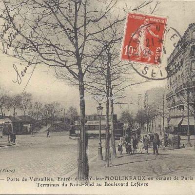 MCFL 134 - Porte de Versailles, Entrée d'Issy les Moulineaux