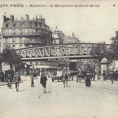 MD 309 - Montmartre - Le Métropolitain Boulevard Barbès