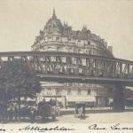 Metropolitain Rue Lecourbe - Carte-photo