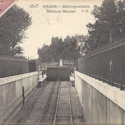JH 510 - Metropolitain Station Mazas