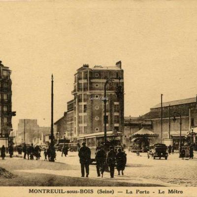 Michel Lévy - MONTREUIL-sous-BOIS - La Porte - Le Métro