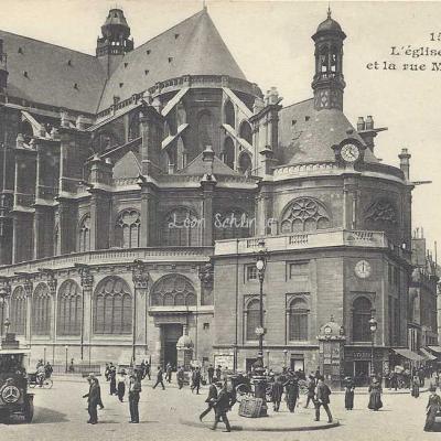 MJ 151 - L'église St-Eustache et la rue Montmartre