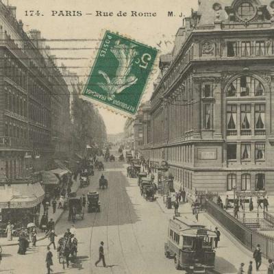 MJ 174 - PARIS - Rue de Rome