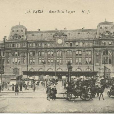 MJ 528 - PARIS - Gare Saint-Lazare